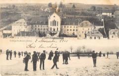Delle College Saint Benoit (dos non divisé) cliché pas courant - Delle