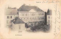 Vesoul La Prefecture (dos non divisé) - Vesoul