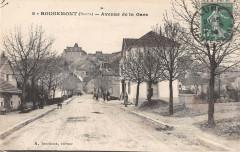 Rougemont Doubs Avenue De La Gare - Rougemont