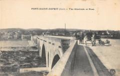 Pont Saint Esprit Vue Generale Et Pont - Pont-Saint-Esprit