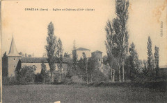 Ornezan Eglise Et Chateau - Ornézan