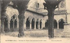 La Romieu Interieur Du Cloitre - La Romieu