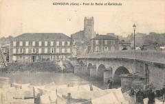 Condom Pont De Barlet Et Cathedrale - Condom