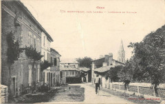 Montpezat Interieur Du Village - Montpézat