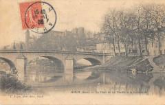 Auch Le Pont De La Treille Et Cathedrale - Auch