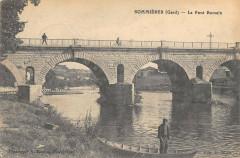 Sommieres Le Pont Romain (cliché rare - Sommières