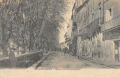 Sommieres Quai Leon Griollet (cliché rare - Sommières