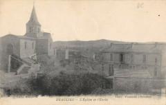 Beaulieu L'Eglise Et L'Ecole - Beaulieu