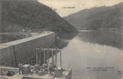 Barrage De Sauviat Pres Courpiere - Sauviat