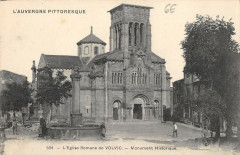 Eglise Romane De Volvic - Volvic