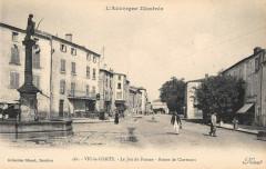Vic Le Comte Le Jeu De Paume Route De Clermont - Vic-le-Comte