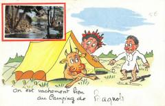 On Est Vachement Bien Au Camping De Bagnols - Bagnols