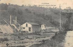 Sauviat Usine Du Barrage - Sauviat