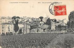 Vic Le Comte Vue Generale - Vic-le-Comte