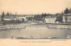 77 Les Fontaines Et Le Viaduc A Marly Le Roi - Marly-le-Roi