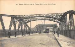 Paris XIIIe arrt Pont De Tolbiac Chef D'Oeuvre De Metallurgie - Paris 13e