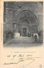 Valreas Eglise Porte Principale - Valréas