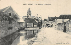 Rully Le Village Et Eglise - Rully