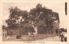 Vergeze Le Temple (cliché pas courant - Vergèze