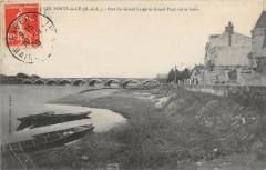 Les Ponts De Ce Port Du Grand Large Et Grand Pont Sur La Loire - Loiré