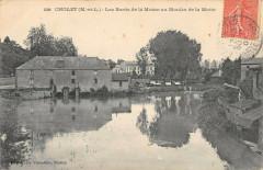 Cholet Les Bords De La Moine Au Moulin De La Motte - Cholet