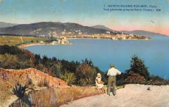 Sainte Maxime Sur Mer Vue Generale Prise De Saint Tropez - Sainte-Maxime