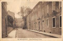Bedarieux Rue Ferdinand Fabre - Bédarieux