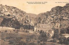 Caunes Minervois Sanctuaire De Notre Dame Du Cros - Caunes-Minervois