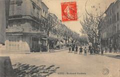 Uzes Boulevard Gambetta - Uzès