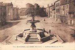 Monistrol Sur Loire La Place Neron - Monistrol-sur-Loire