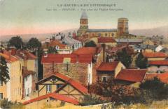 Brioude Vue Prise Sur L'Eglise St Julien - Brioude