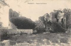 Pranzac Ruines Du Chateau - Pranzac