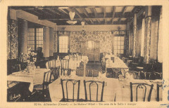 Allanches Le Modern Hotel Un Coin De La Salle A Manger - Allanche