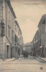 Villeneuve De Berg Rue Saint Louis Maison Olivier De Serres - Villeneuve-de-Berg