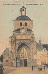 Montreuil Sur Mer Eglise Saint Saulve - Montreuil