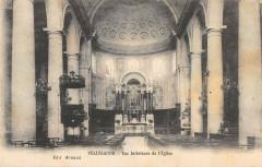 Pelissanne Vue Interieure De L'Eglise - Pélissanne