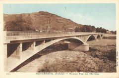 Beauchastel Nouveau Pont Sur L'Eyrieux - Beauchastel