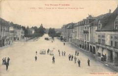 Nay Place De La Mairie Et Avenue Du Pont - Nay