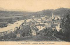 Tardets Vue Prise Du Mont Heguia Le Pont D'Alos - Mont