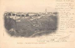Nontron Vue Prise De La Place Saint Etienne (dos non divisé) - Nontron