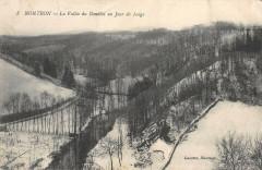 Nontron La Vallee Du Bandiat Un Jour De Neige - Nontron