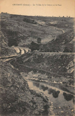 Crozant La Vallee De La Creuse Et Le Pont - Crozant