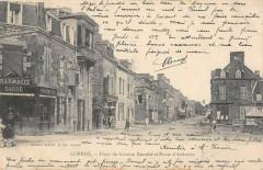 Gorron Place Du General Barrabe Et Route D'Ambriere - Gorron