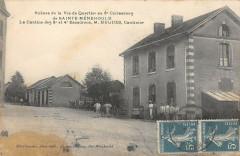 Sainte Menehould Scenes De La Vie De Quartier Hugues Cantinier (rare - Sainte-Menehould