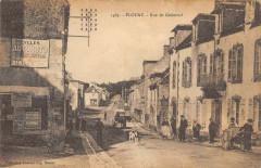 Plouay Rue De Guemene (cliché pas courant - Plouay