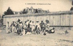 Lamor Baden Les Baigneurs Sur La Plage - Baden