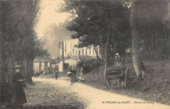 Saint Trojan Les Bains Entree Du Bourg (cpa pas courante - Courant