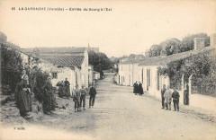 La Garnache Entree Du Bourg A L'Est - La Garnache