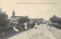 Les Moutiers Les Mauxfaits L'Entree Du Bourg Par La Route De Moricq - Moutiers-les-Mauxfaits