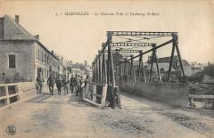 Maroilles Le Nouveau Pont Et Faubourg Saint Roch (cpa pas courante - Maroilles